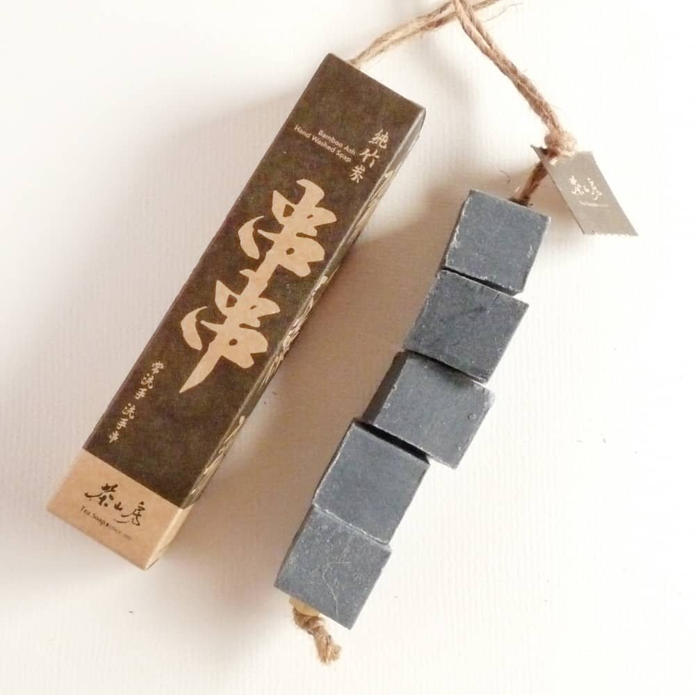 純竹炭洗手串 Bamboo Ash Hand Washed Soap