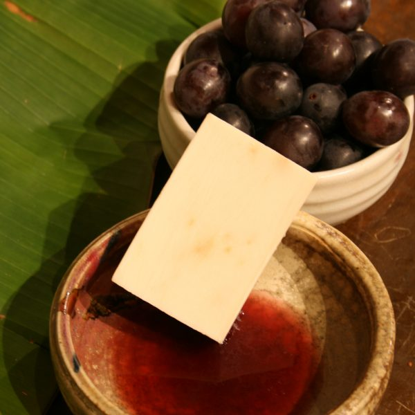 葡萄酒粕皂 Wine Polyphenolic Soap